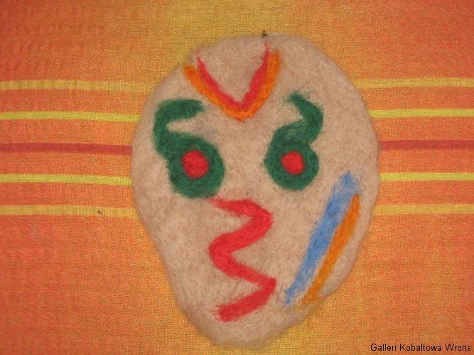 Filt mask, 55 DKK, 2009
