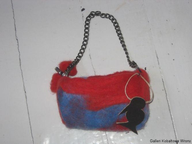 Filt purse, 150 DKK, 2009