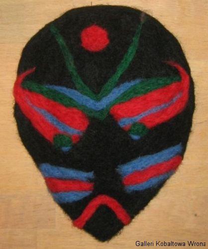 Filt mask, 100 DKK, 2009