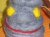 Filt demon ca.8 cm, 100 DKK, 2009