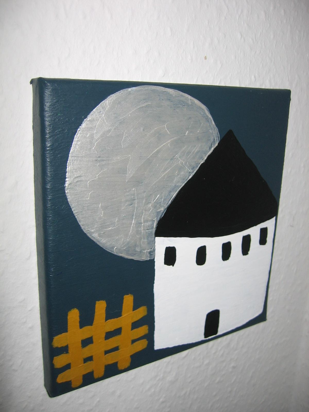Rund Kirke 20x20 cm, 300 DKK, 2010