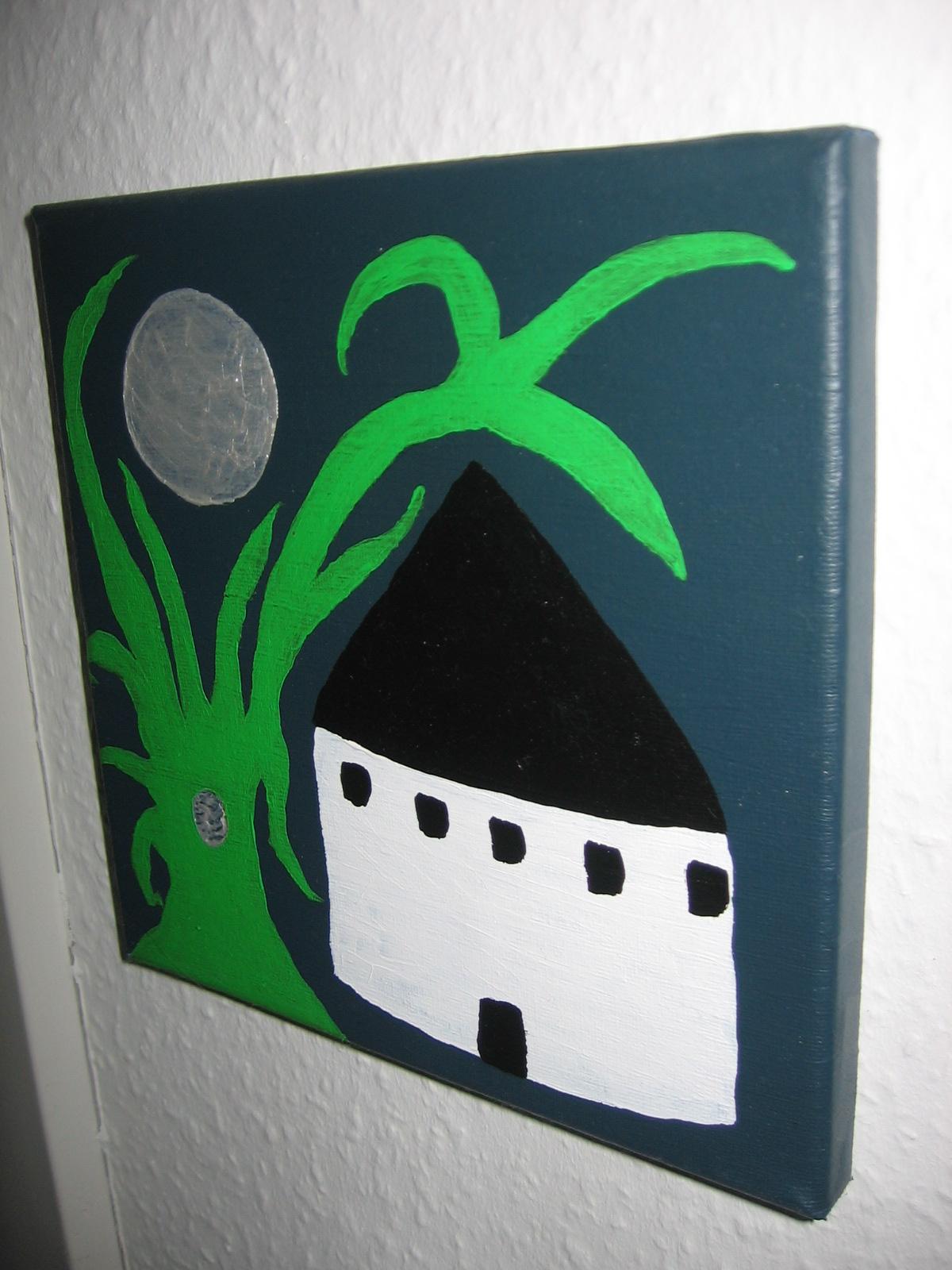 Rund Kirke 2 20x20 cm, 300 DKK, 2010
