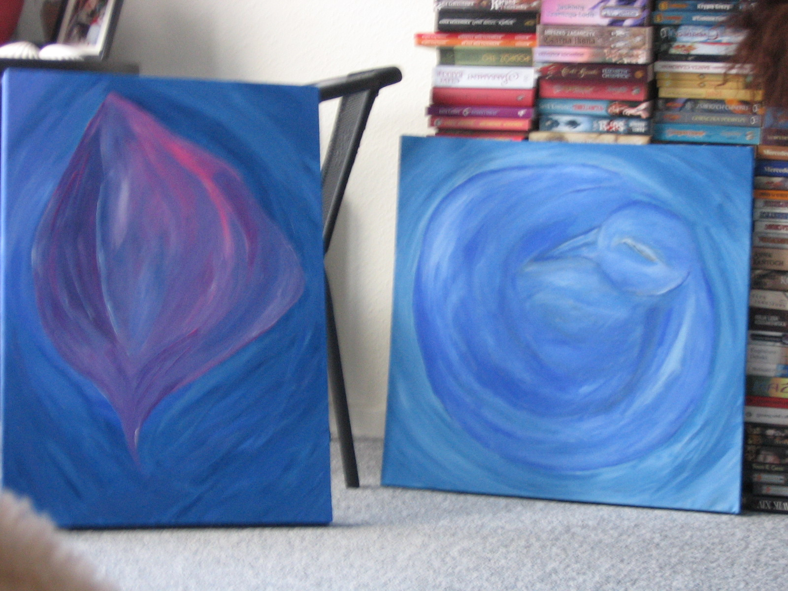 My two paintings