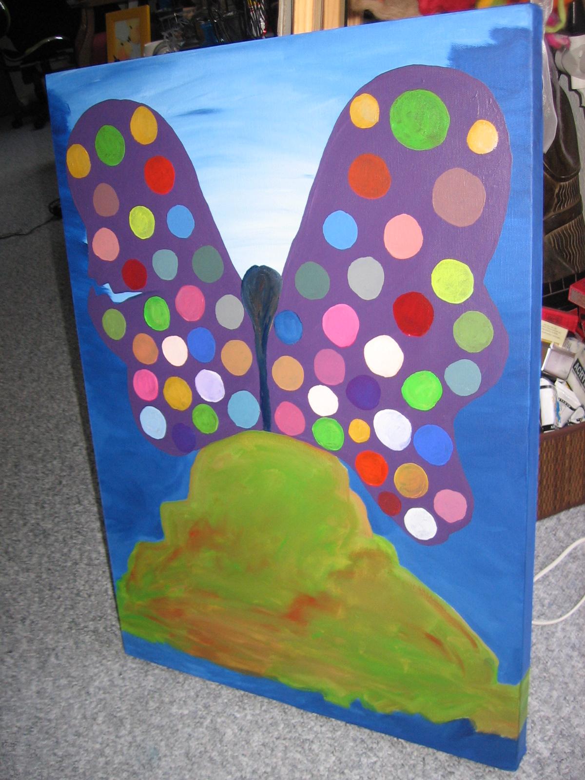 Posłaniec Dobra i Zła 70x50 cm, 5000 DKK, 2011
