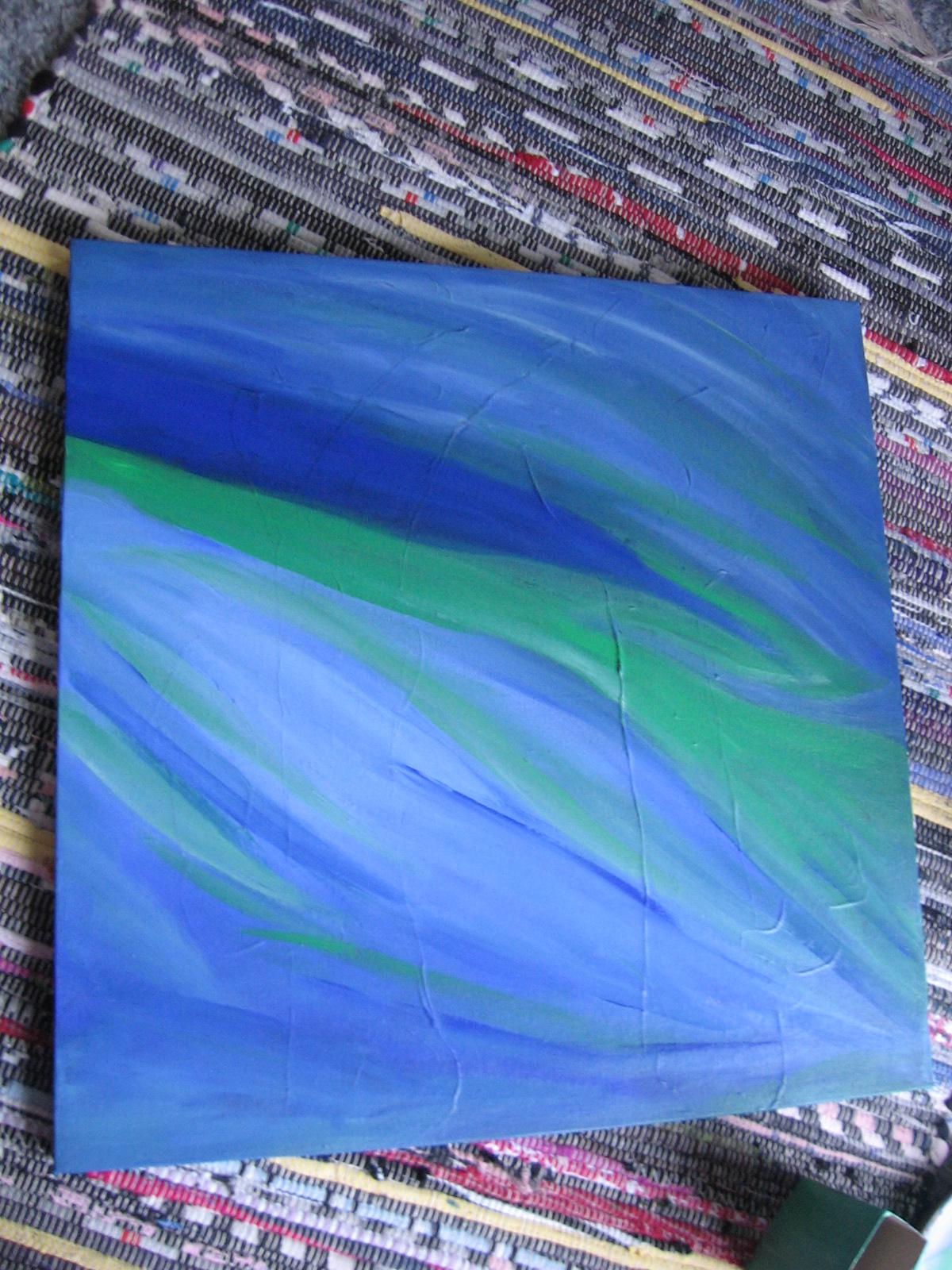 Wiatr 40x40 cm, 1500 DKK, 2011