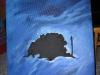 Wyspa Latarnika 50x40 cm, 2500 DKK, 2011